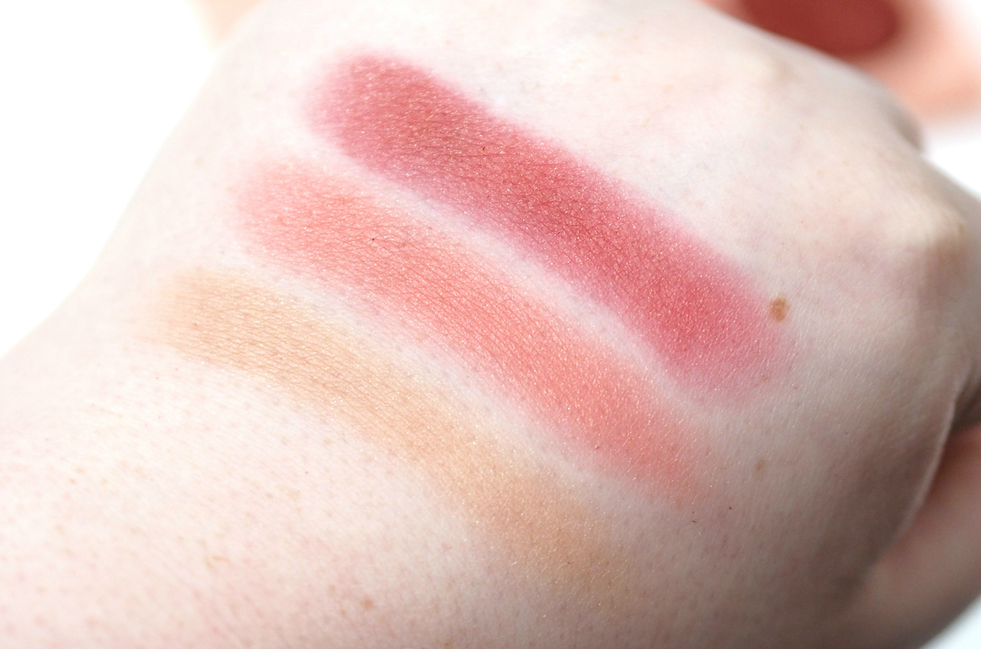 Clinique Warm Up Cheek Pop Blush Palette Review and Swatches