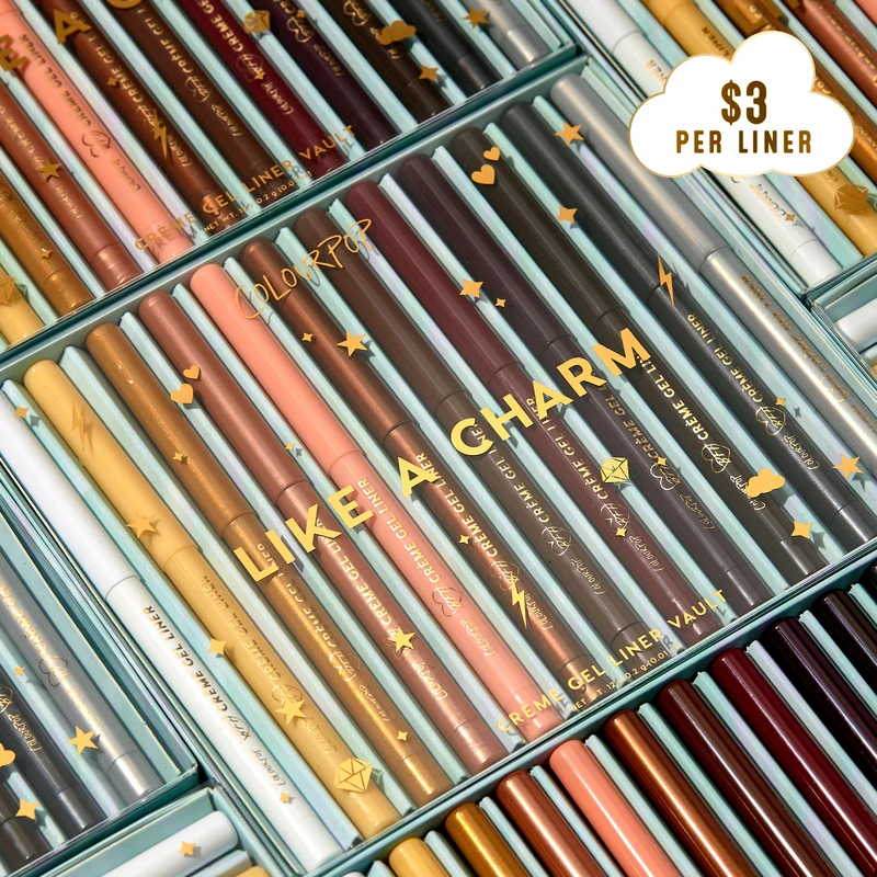ColourPop Like a Charm Creme Gel Eyeliner Vault