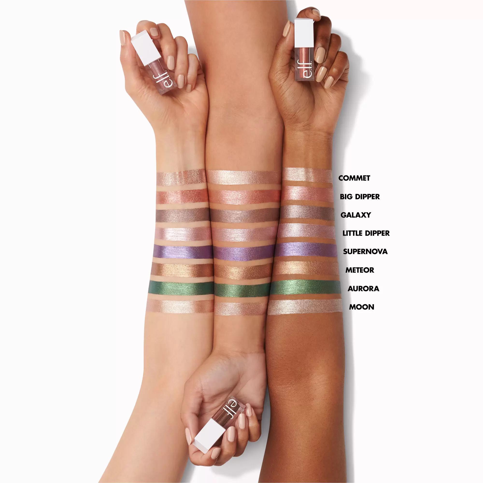 Elf Liquid Metallic Eyeshadow Collection 8 Beautiful Shades