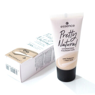 Essence Pretty Natural Hydrating Foundation Review / Swatches