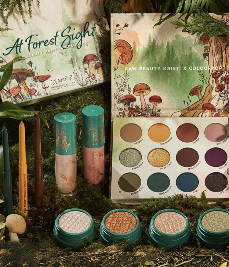 ColourPop x Raw Beauty Kristi Collaboration