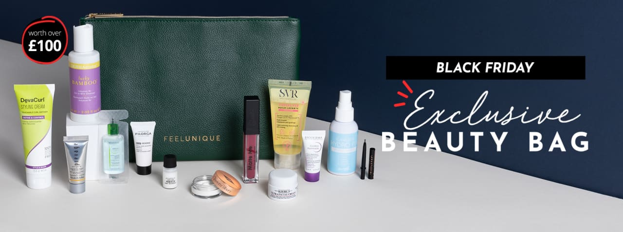 Feelunique Black Friday Exclusive Beauty Bag GWP!