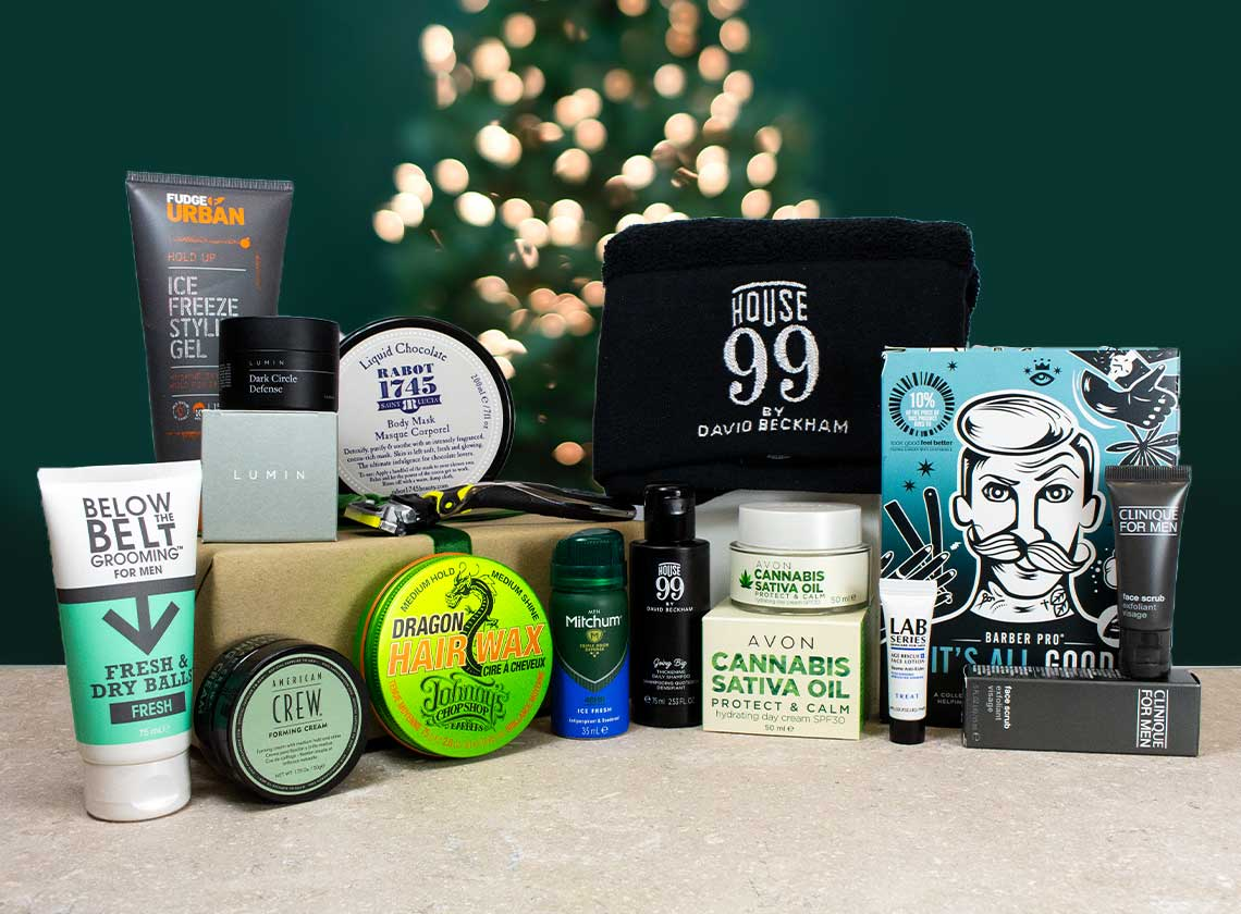 Latest in Beauty Men's Grooming Christmas Edition Box