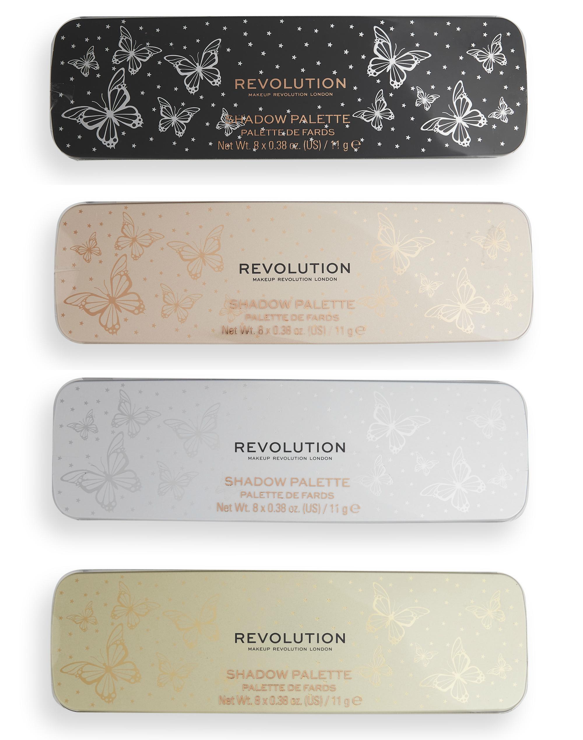 Revolution Precious Glamour Eyeshadow Palette Collection