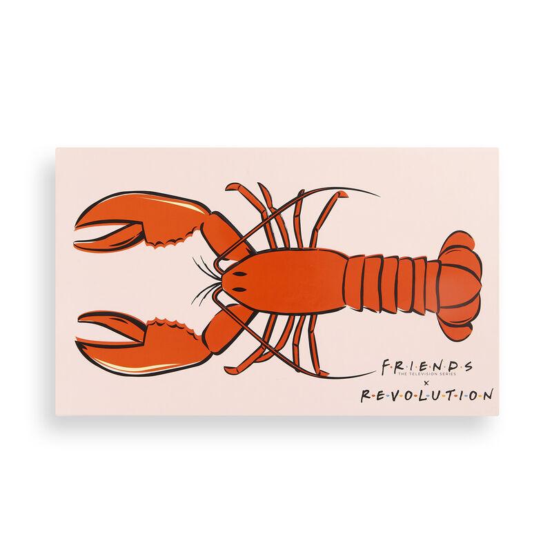 Revolution X Friends He's Her Lobster Eyeshadow Palette