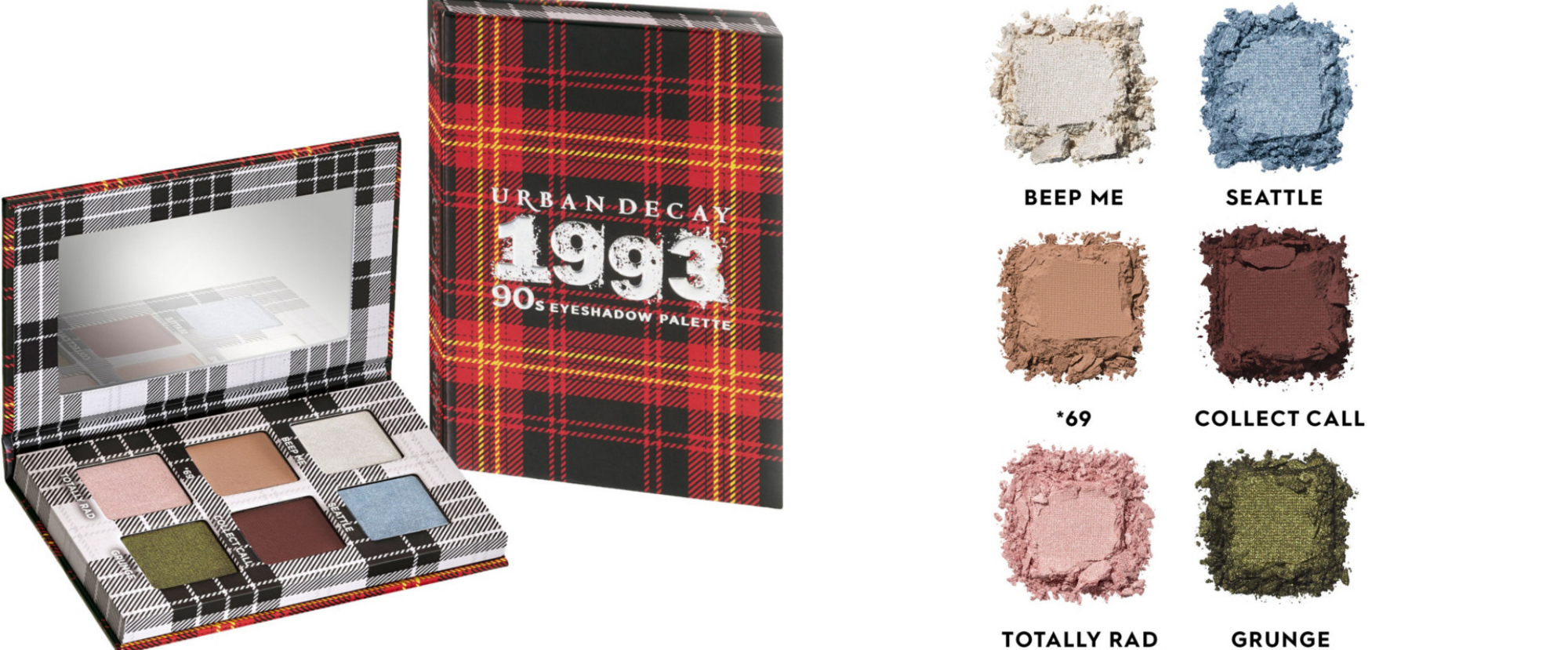 Urban Decay Decades Mini Eyeshadow Palette Collection