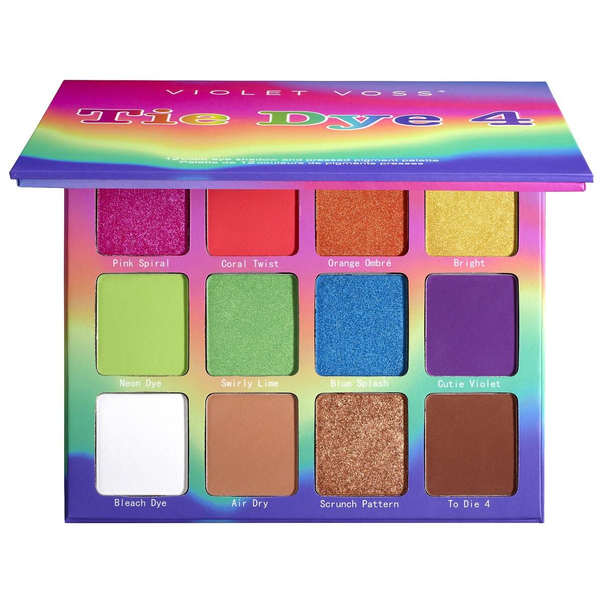 Violet Voss Tie Dye 4 Eyeshadow Palette