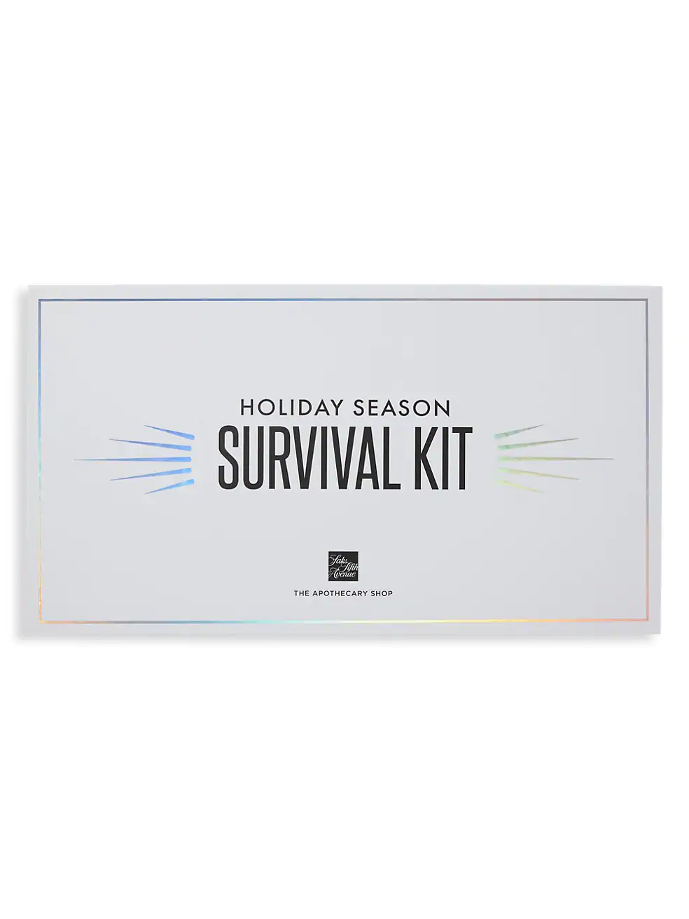 Saks Fifth Avenue Apothecary Holiday Season Survival Kit