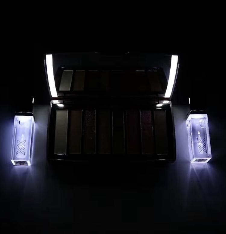 XX Revolution Lights On Light Up Eyeshadow Palette