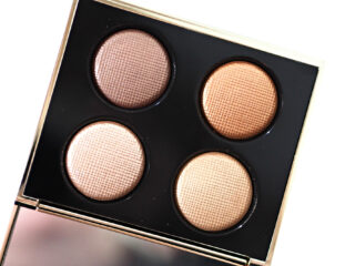 Bobbi Brown Rosy Glow Luxe Eye Quad Review / Swatches