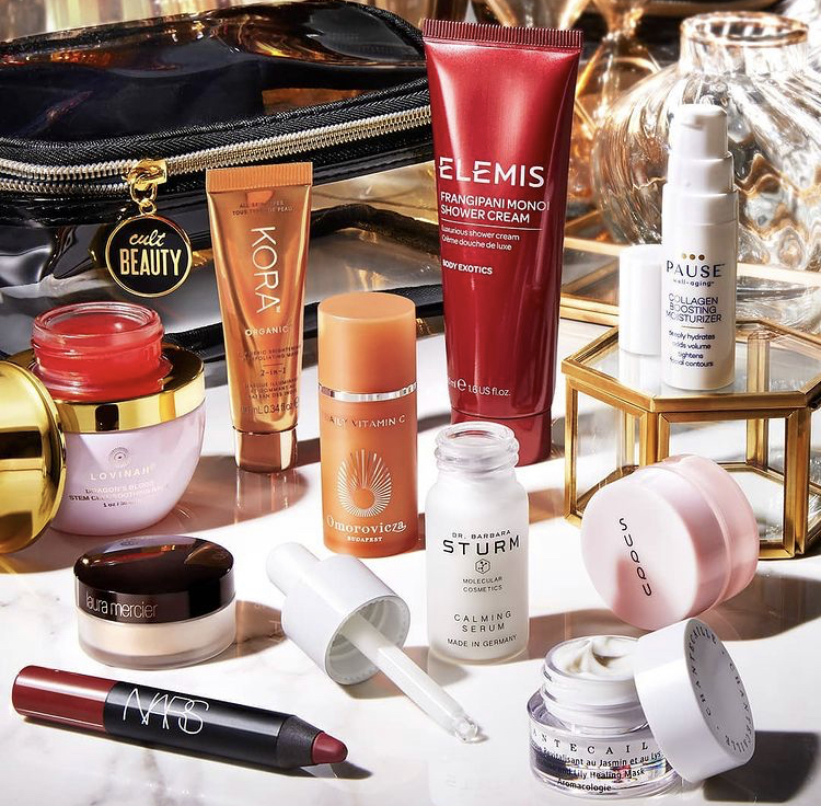 Cult Beauty The Luxe Goody Bag December 2020