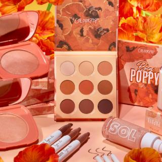 ColourPop Big Poppy Collection Reveal!
