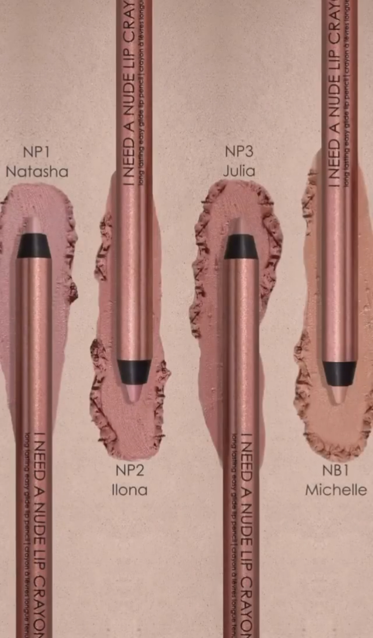 Natasha Denona I Need A Nude Lip Crayon Collection