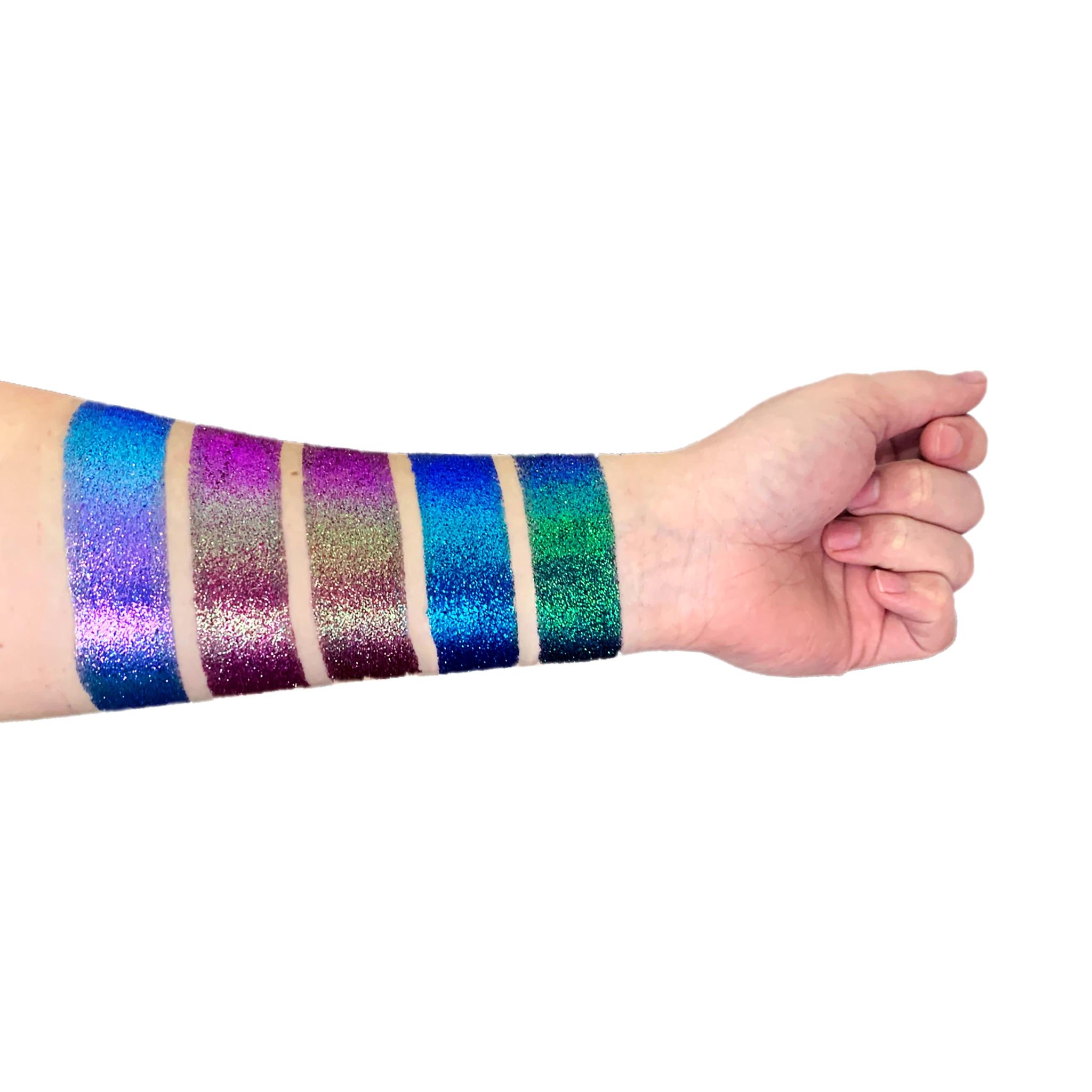 Lit Cosmetics Night Moves Shade Shift Pressed Glitter Palette