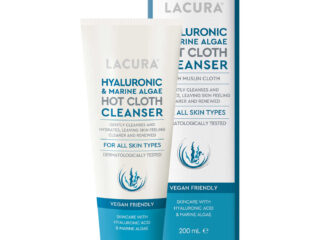 Lacura Hyaluronic & Marine Algae Hot Cloth Cleanser