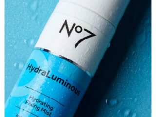 No7 HydraLuminous Fixing Mist