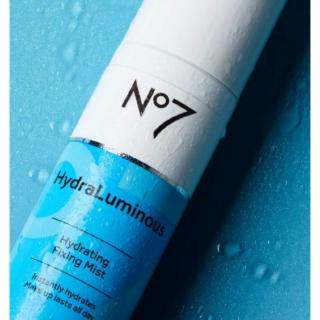No7 HydraLuminous Fixing Mist