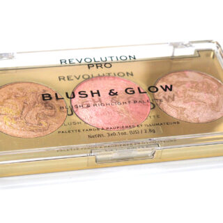 Revolution Pro Blush and Glow Palette Review Swatches