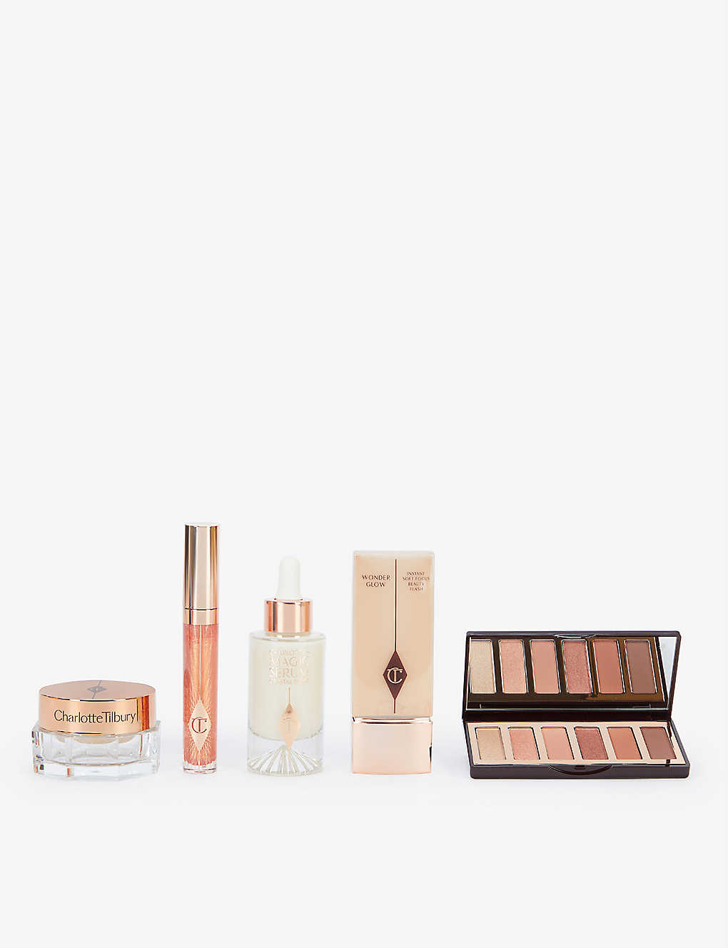 Selfridges x Charlotte Tilbury Glowing Skin Lip + Eye Kit