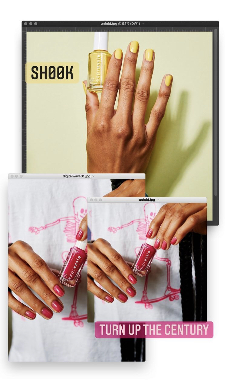 Essie Dial It Up Expressie Nail Polish Collection