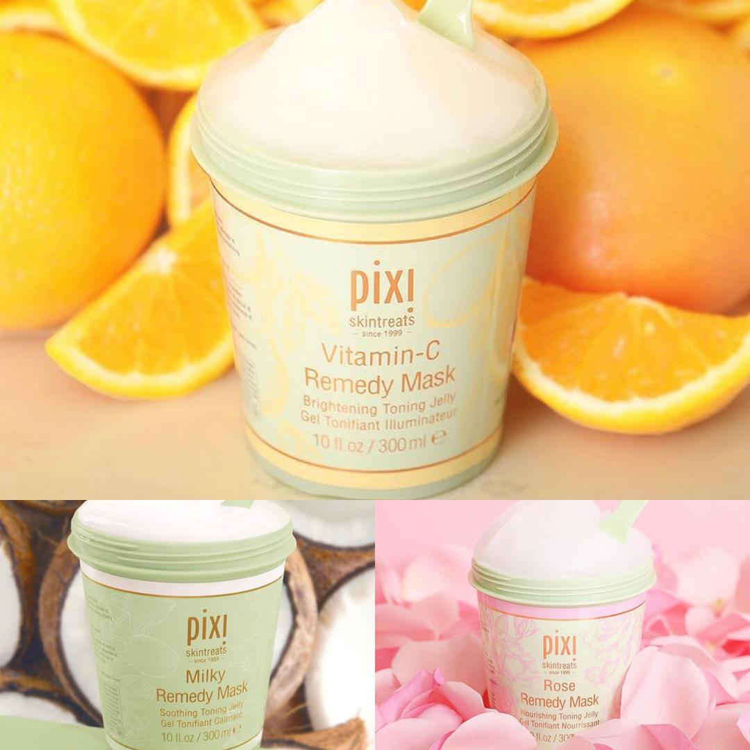 Pixi Remedy Masks | Rose, Milky & Vitamin-C