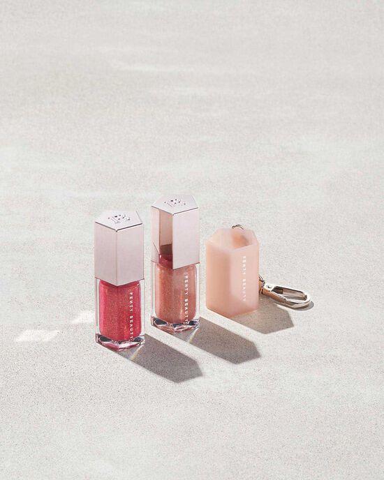 Fenty Beauty Lip Gloss Bombs Mini Lip Duo + Key Chain Set