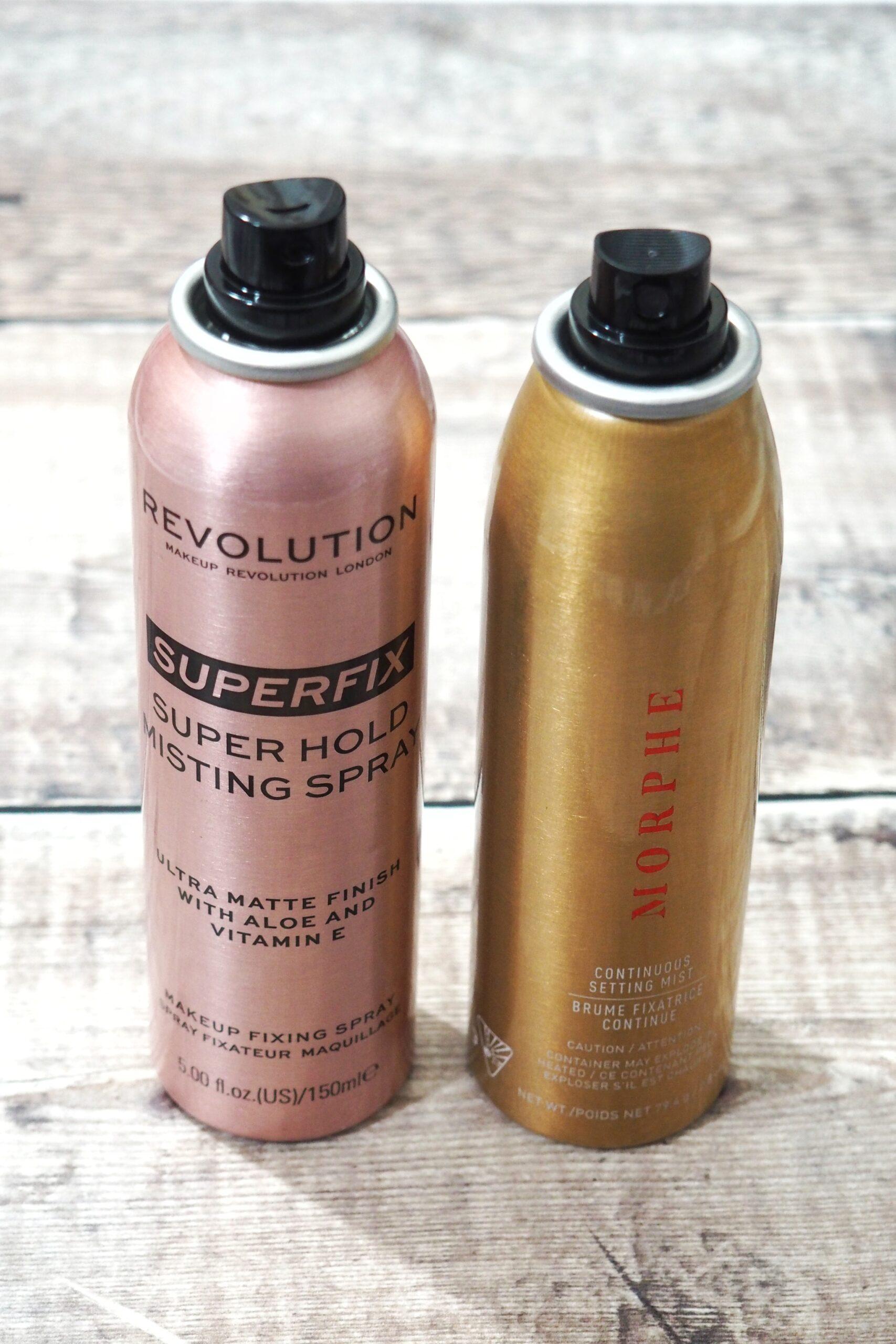 Revolution Superfix Super Hold Misting Spray | Morphe Dupe!?