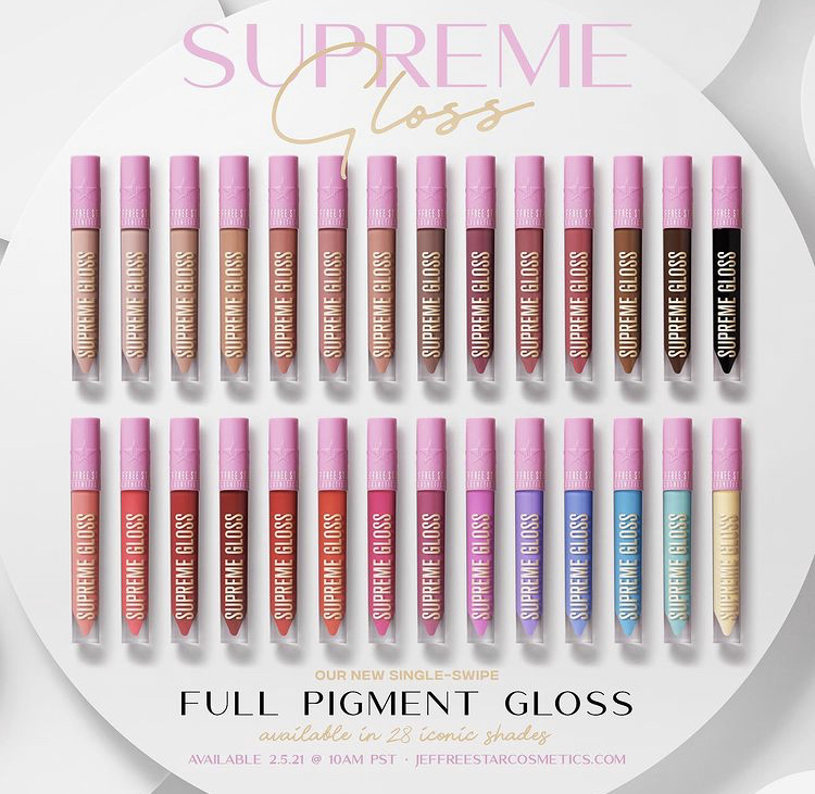 Jeffree Star Supreme Gloss Collection Launch!