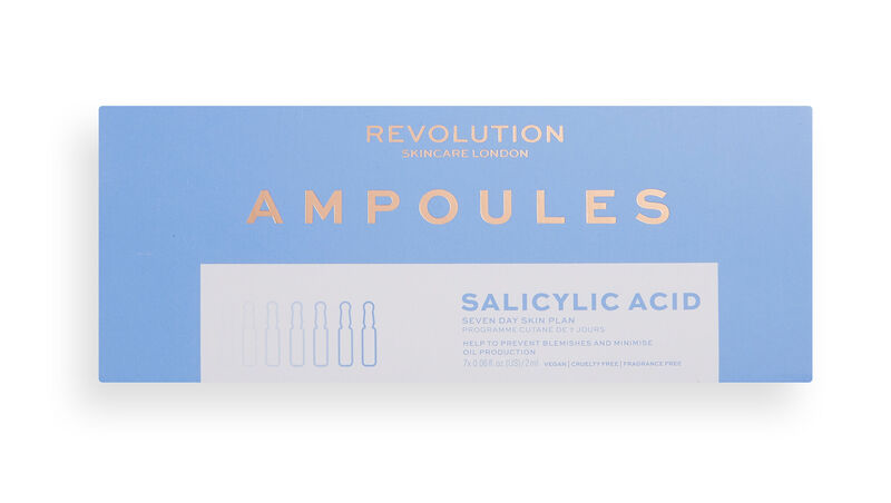 Revolution Skincare Salicylic Acid Ampoules 7 Day Skin Plan