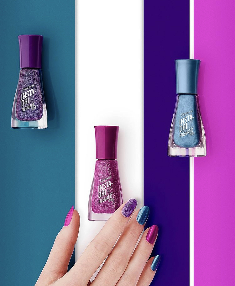 Sally Hansen Prismatic Shine Insta-Dri Nail Polish Collection