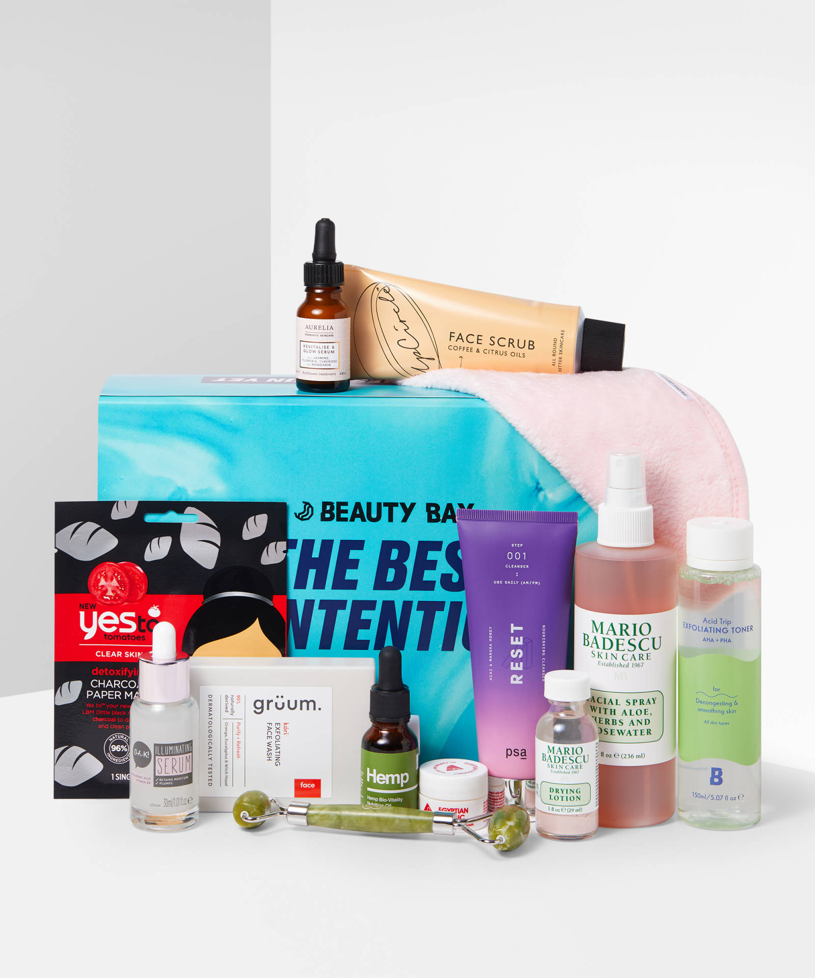 Beauty Bay The Best SKINtentions Beauty Box