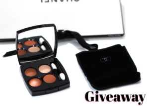Chanel Bouquet Ambré Les 4 Ombres Les Fleurs de Chanel Palette Review + Global Giveaway