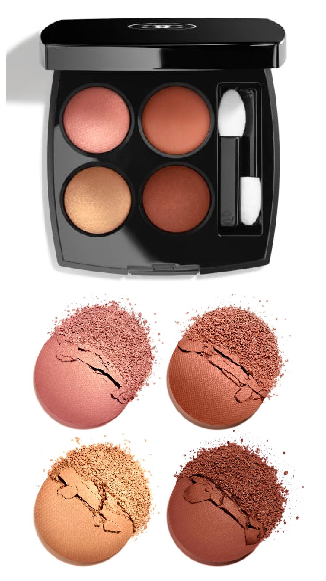 Chanel Fleurs de Printemps Les Ombres Eyeshadow Palettes