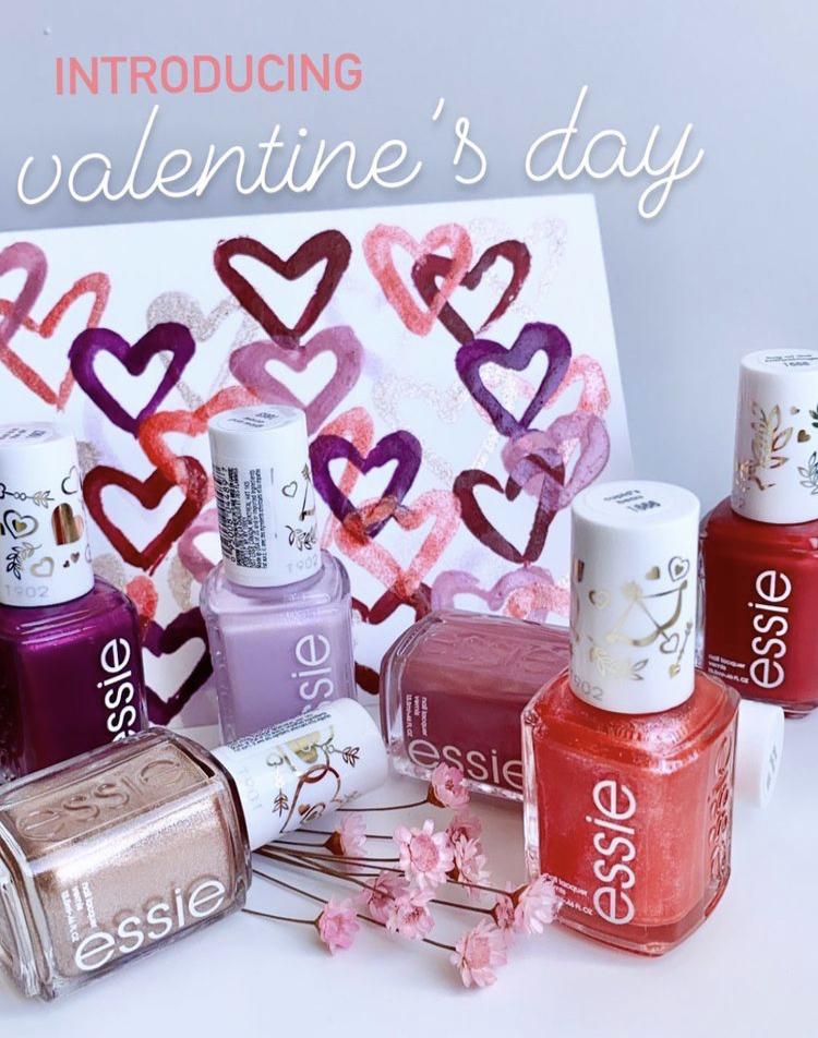 Essie Cupid's Beau Valentine's Day Collection 2021