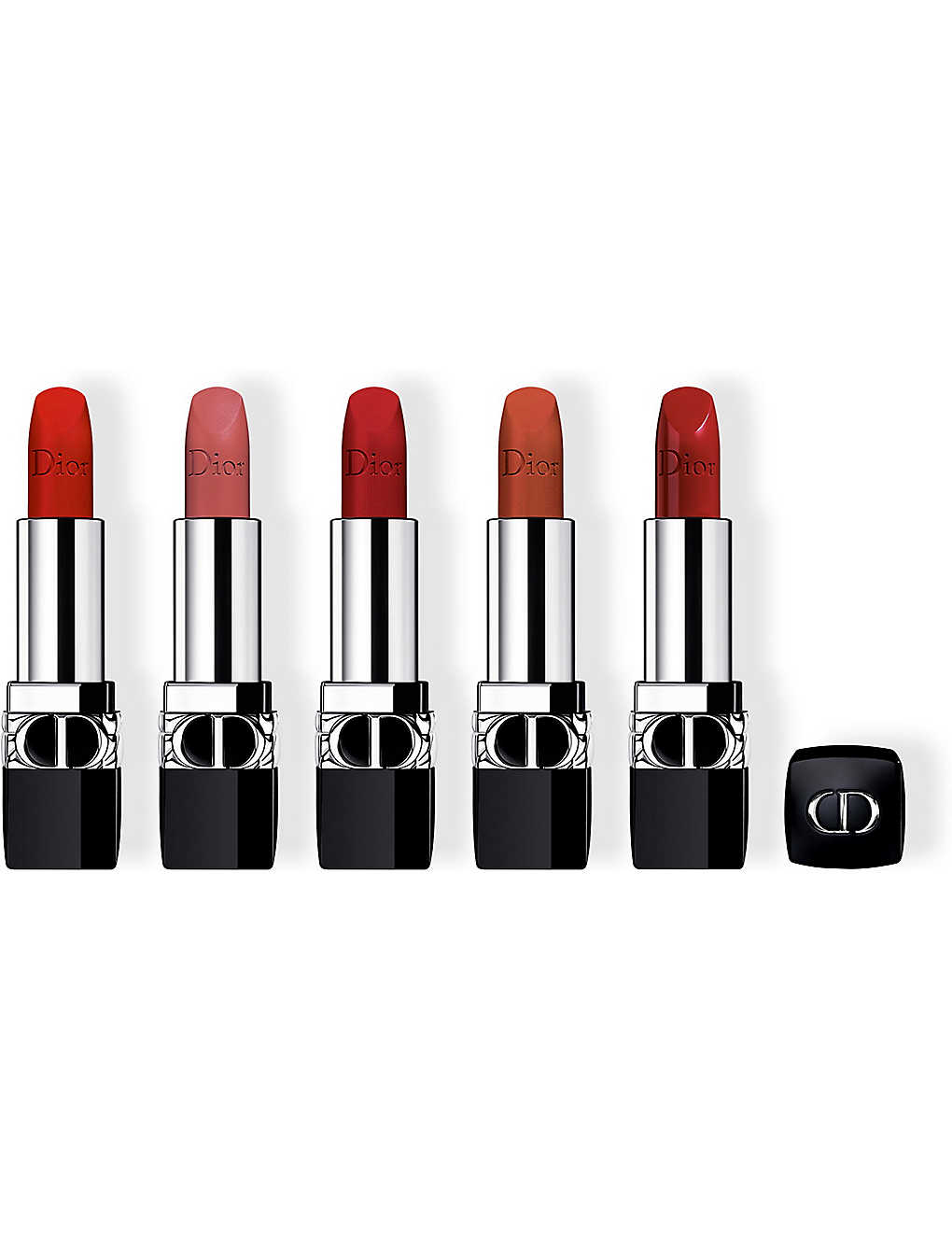 Dior Rouge Couture Colour Refillable Lipstick Collection