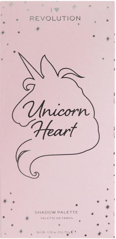 I Heart Revolution Unicorn Heart Shadow Palette