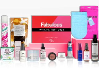 Latest in Beauty x Fabulous What's Hot 2021 Beauty Box