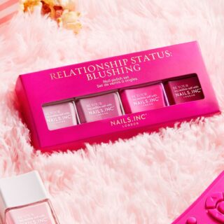 Nails Inc Relationship Status: Blushing Nail Polish Set