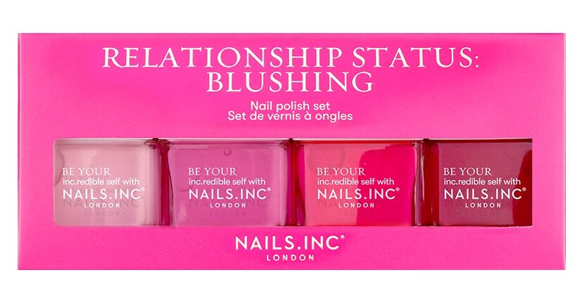 Nails Inc Relationship Status: Blushing Nail Polish Set