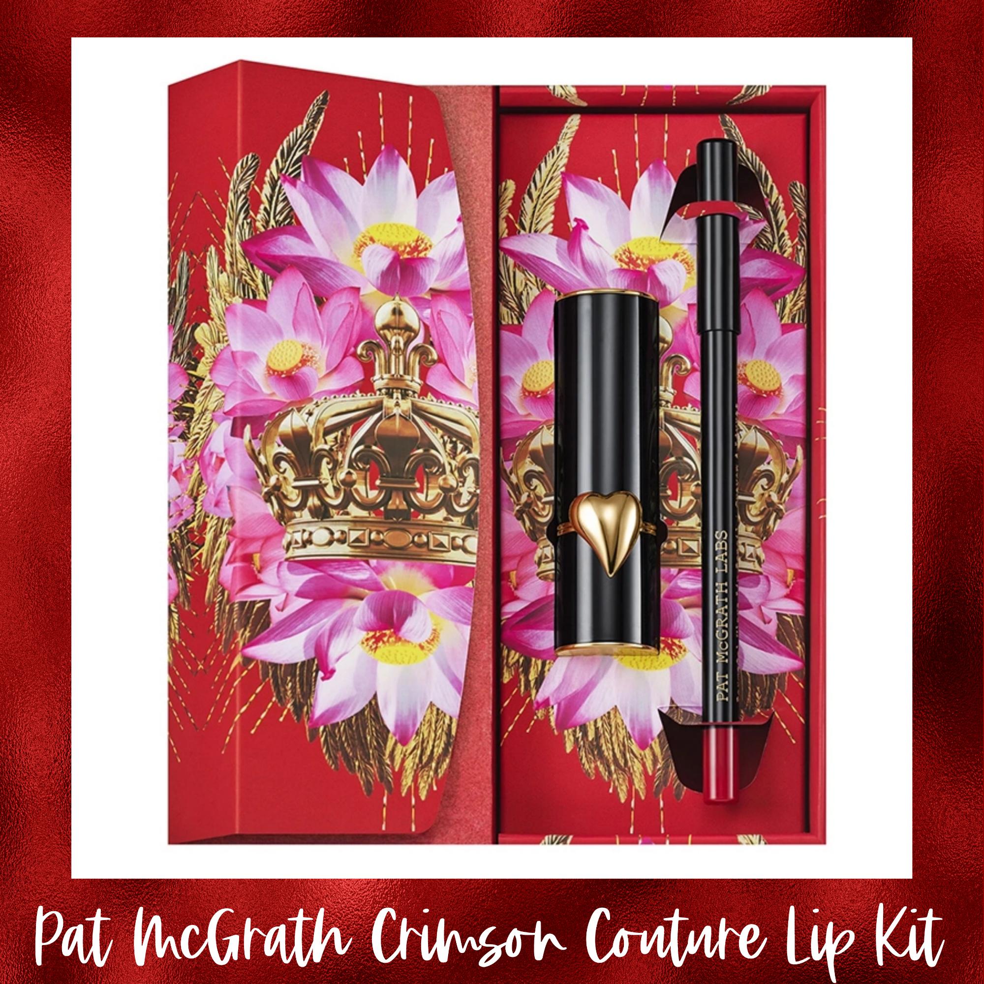 Pat McGrath Crimson Couture Lip Kit | Spring 2021