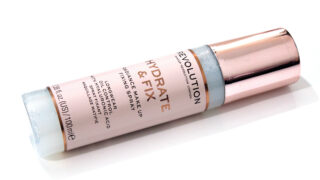 Revolution Hydrate & Fix Radiance Makeup Fixing Spray Review