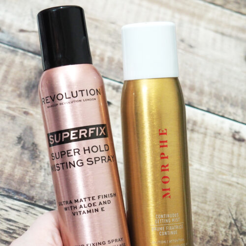 Revolution Superfix Super Hold Misting Spray Vs Morphe Continuous Setting Spray
