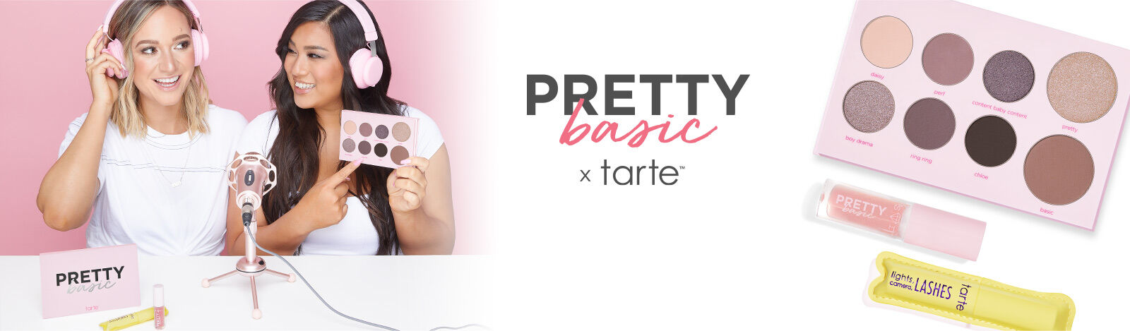 Pretty Basic X Tarte Color Collection Collaboration