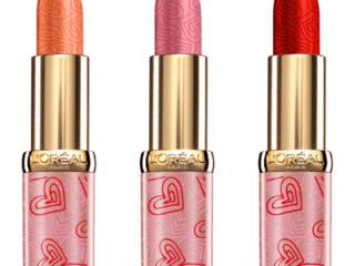 L'Oreal Valentine's Day Color Riche Satin Lipstick Collection
