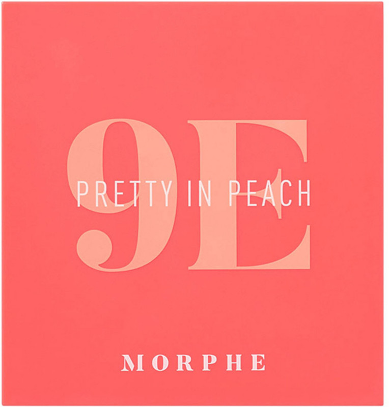 Morphe 9E Pretty In Peach Artistry Palette