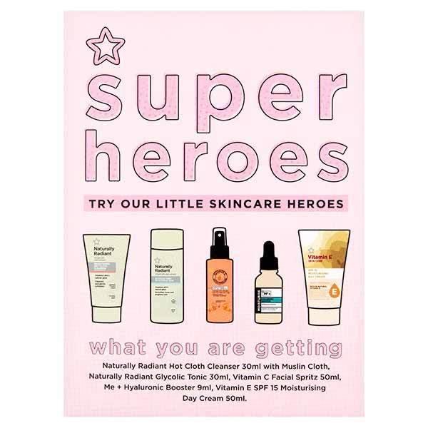 Superdrug Super Heroes Skincare Gift Set