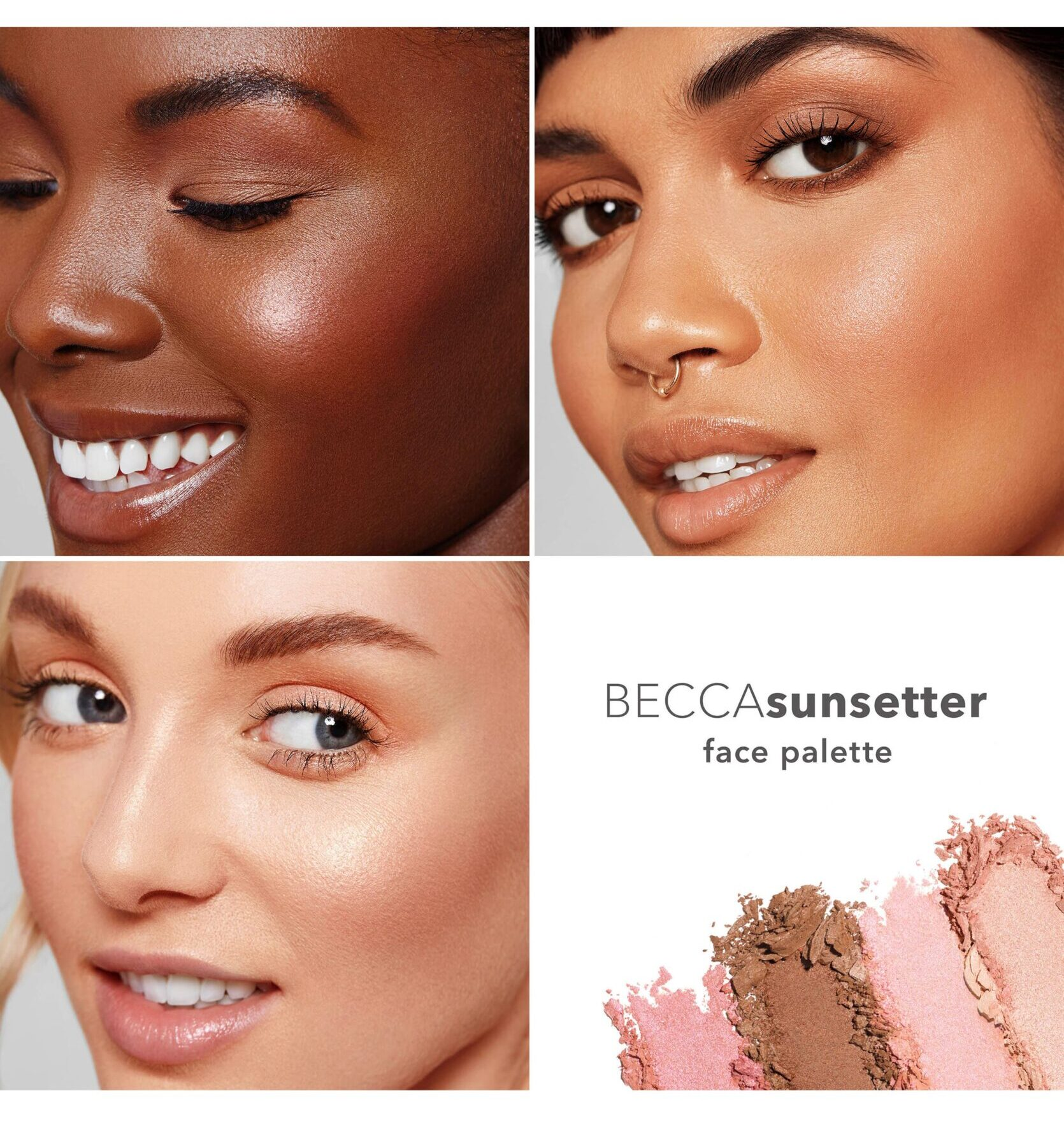 Becca Sunsetter Face Palette Exclusive Reveal!