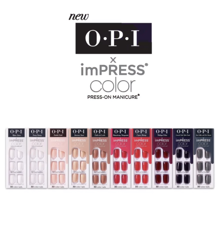 OPI x imPRESS Color Press On Manicure Collection
