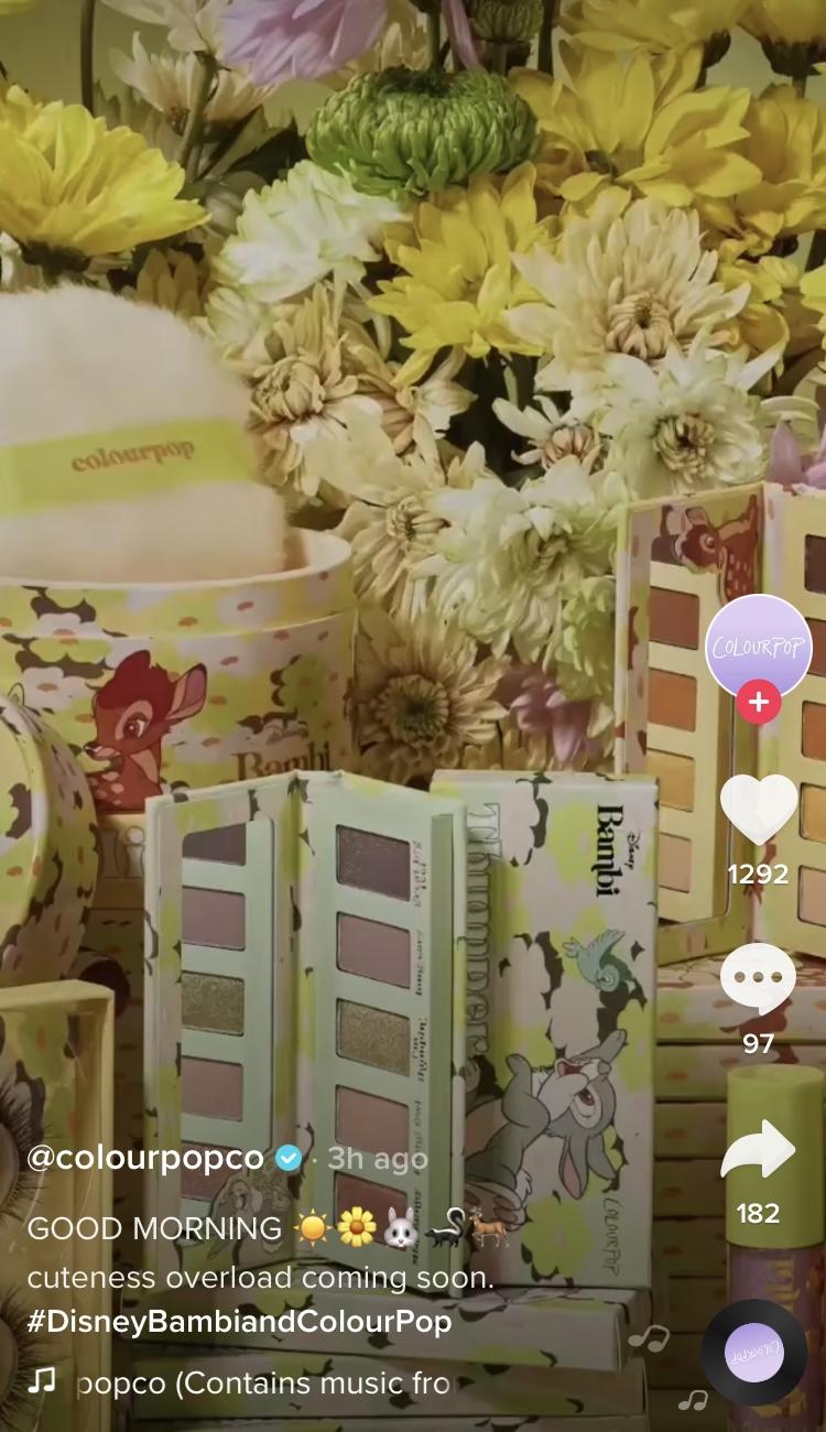 ColourPop x Disney Bambi Collection Reveal!