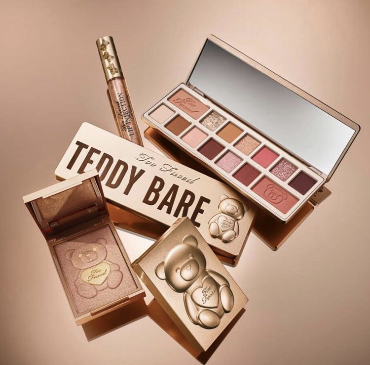 Too Faced Teddy Bare Collection Sneak Peek!